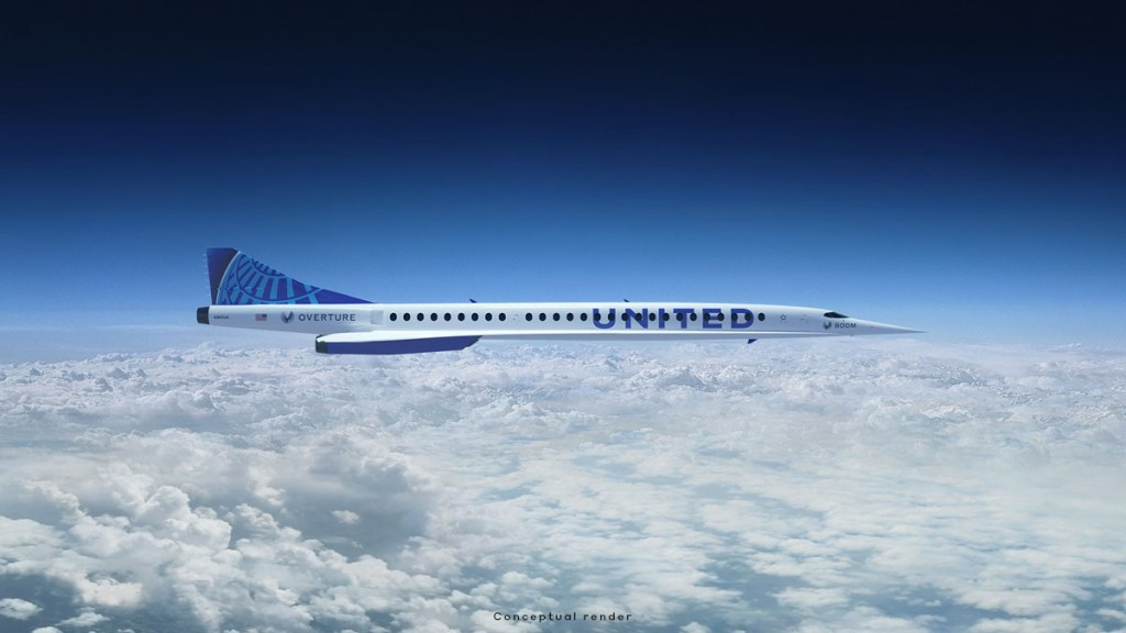 Boom Supersonic - United Airlines