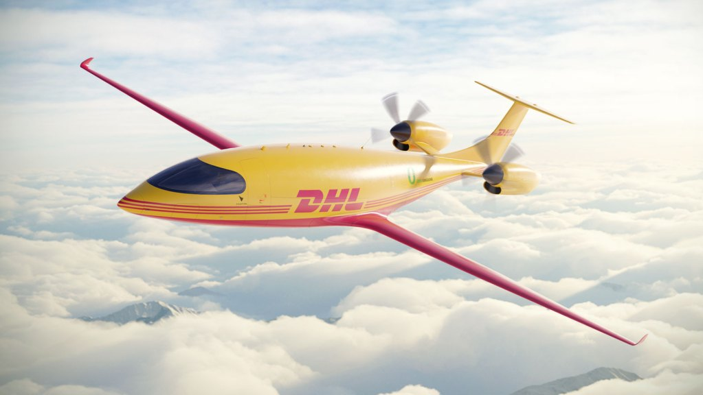 DHL All-Electric Eviation Alice