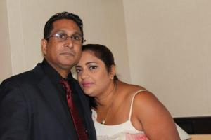 Mr. Beepat and his wife Monica