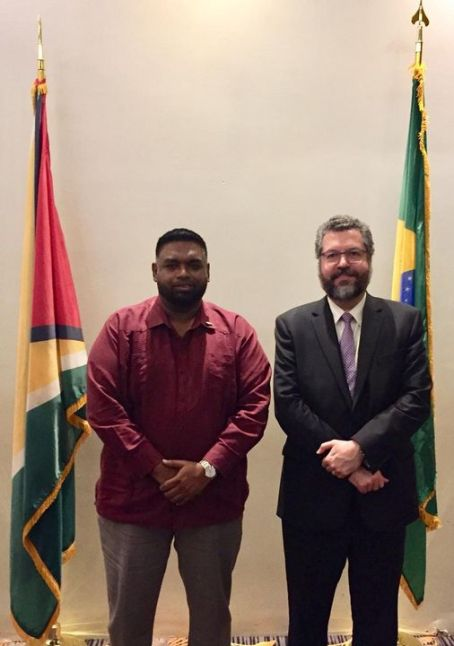 Guyana, Brazil to Bolster Relations in Energy, Trade, Oil & Gas and Security