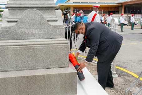 Guyana Observes Remembrance Day
