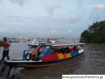 The Demerara River - Speedboats
