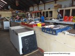 Bartica Market - Fish Section