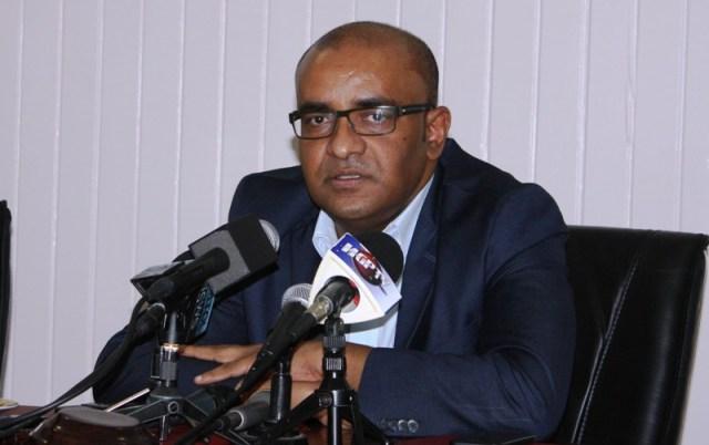 Former President and Opposition Leader Bharrat Jagdeo