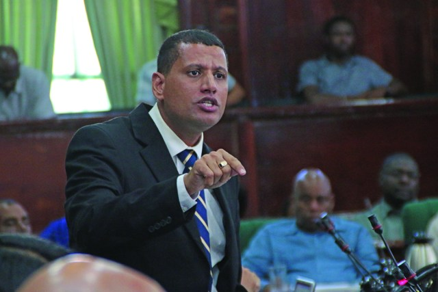 PPP MP Collin Croal