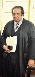 Senior Counsel Edward Luckhoo
