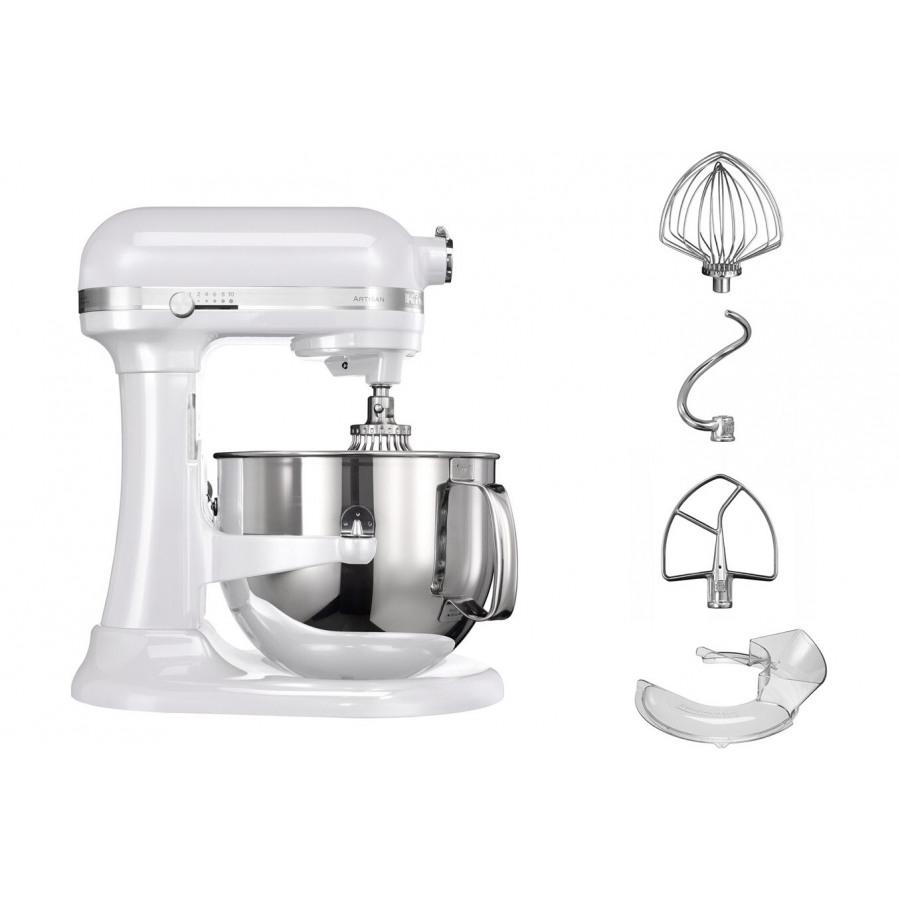 kitchenaid artisan blanc givre 6 9 5ksm7580xefp