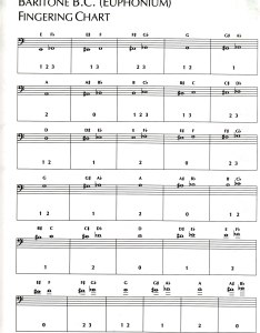 Baritone fingering chart also instrument charts guy  brown music rh guybbrownmusic weebly