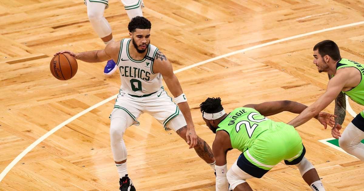Jayson Tatum Drops 53 Points, Leads Celtics Past Timberwolves in OT