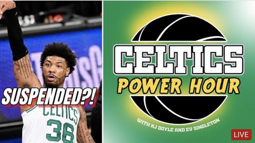 Celtics Power Hour – Marcus Smart Suspended & Celtics COVID-19 Trouble