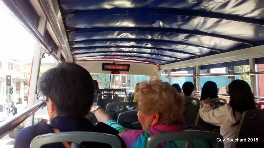 Visite en autobus 2 étage (un double decker comme en Angleterre)