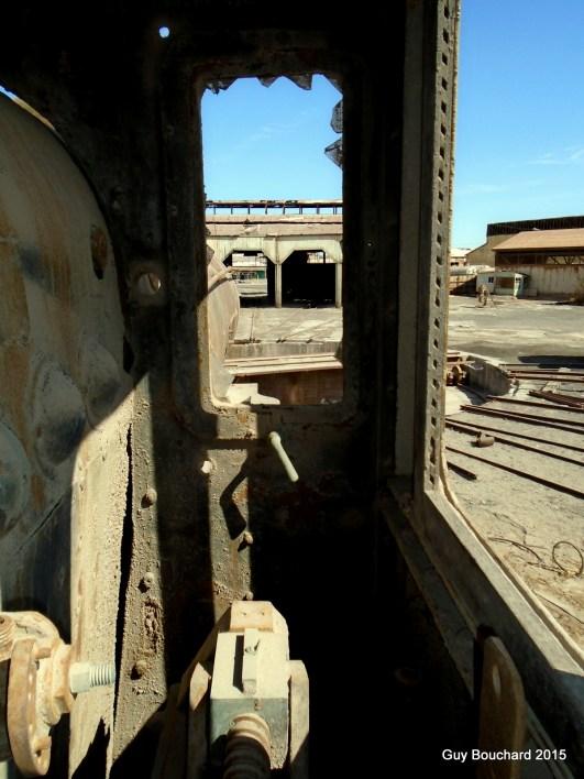 Au musée ferroviaire de Baquedano