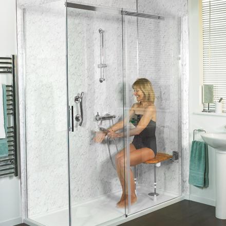 Easy access shower installation Bridport