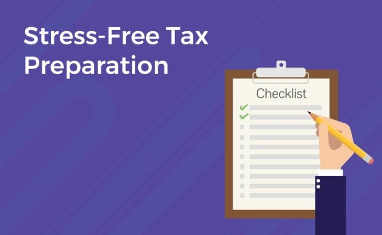Stress-free tax preparations