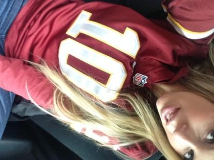 I might need a new Redskins jersey haha