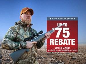 Thompson/Center Arms Announces Fall Rebate on Popular Rifles