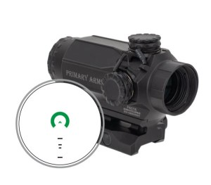 Primary Arms SLx 1x20 Prism Scope with Green Illuminated Reticle