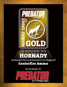 Hornady Selected in Three Categories for Readers Choice Awards