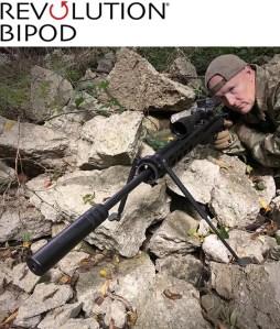 New Guns & Gear for 2021—Elite Iron Revolution Bipod Panning Model