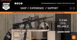 Adams Arms Debuts New Website