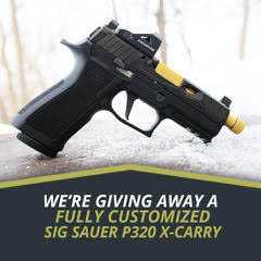 Night Fision Giving Away Fully Customized SIX Sauer P320 X-Carry