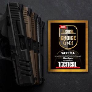 SAR USA Wins Tactical Retailer Readers' Choice Award