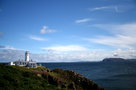 Lighthouse on Malin Head, Co. Donegal