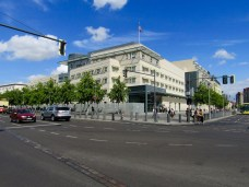 US Embassy from Ebertstraße
