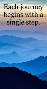 journey of a single step