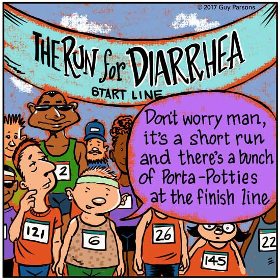 The run for diarrhea