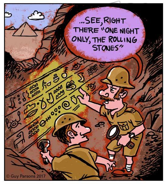 archaeologists cartoon