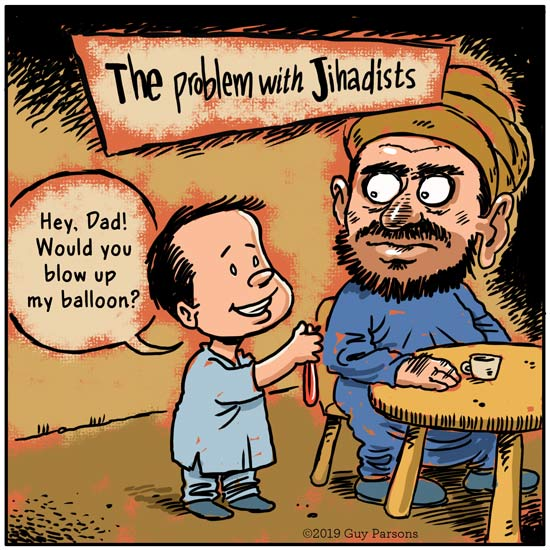 Jihad cartoon