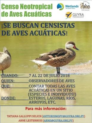 Censo Neotropical Folleto_Julio18