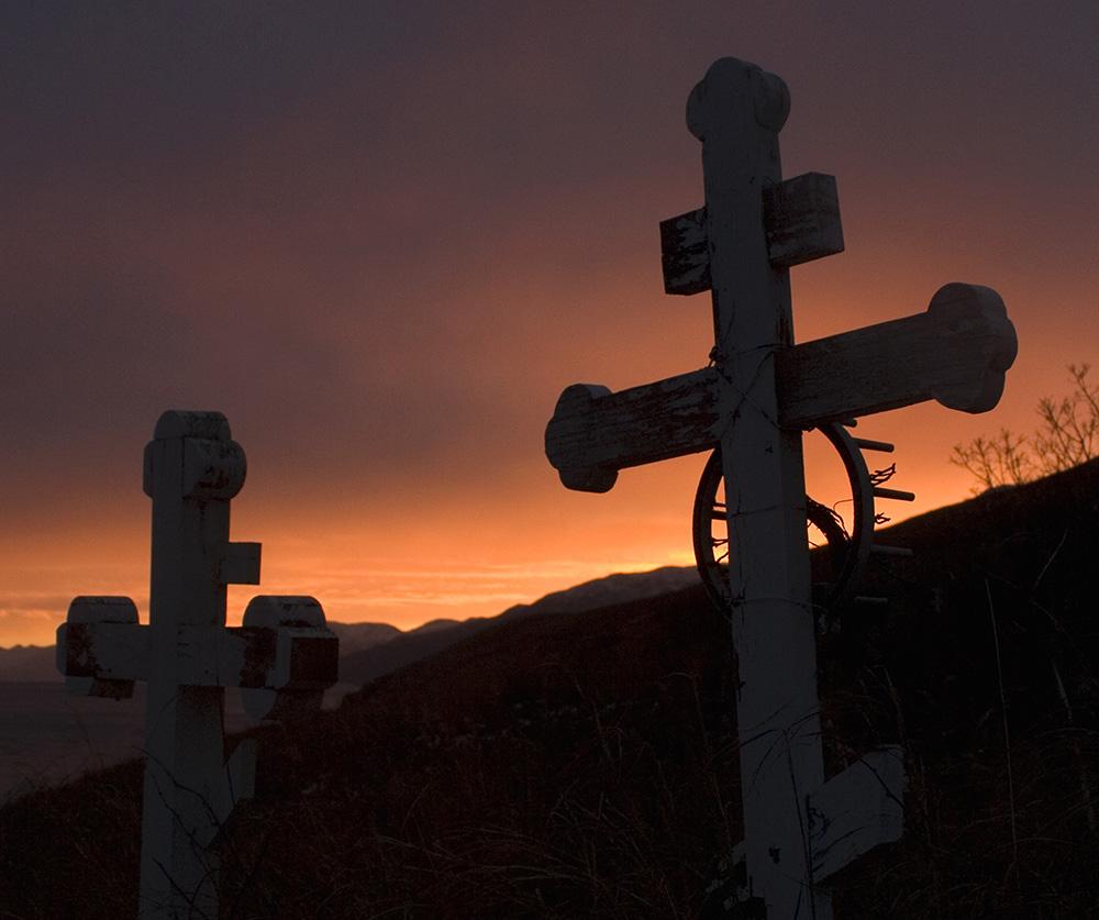 Kodiak Island sunset, Guy Sagi