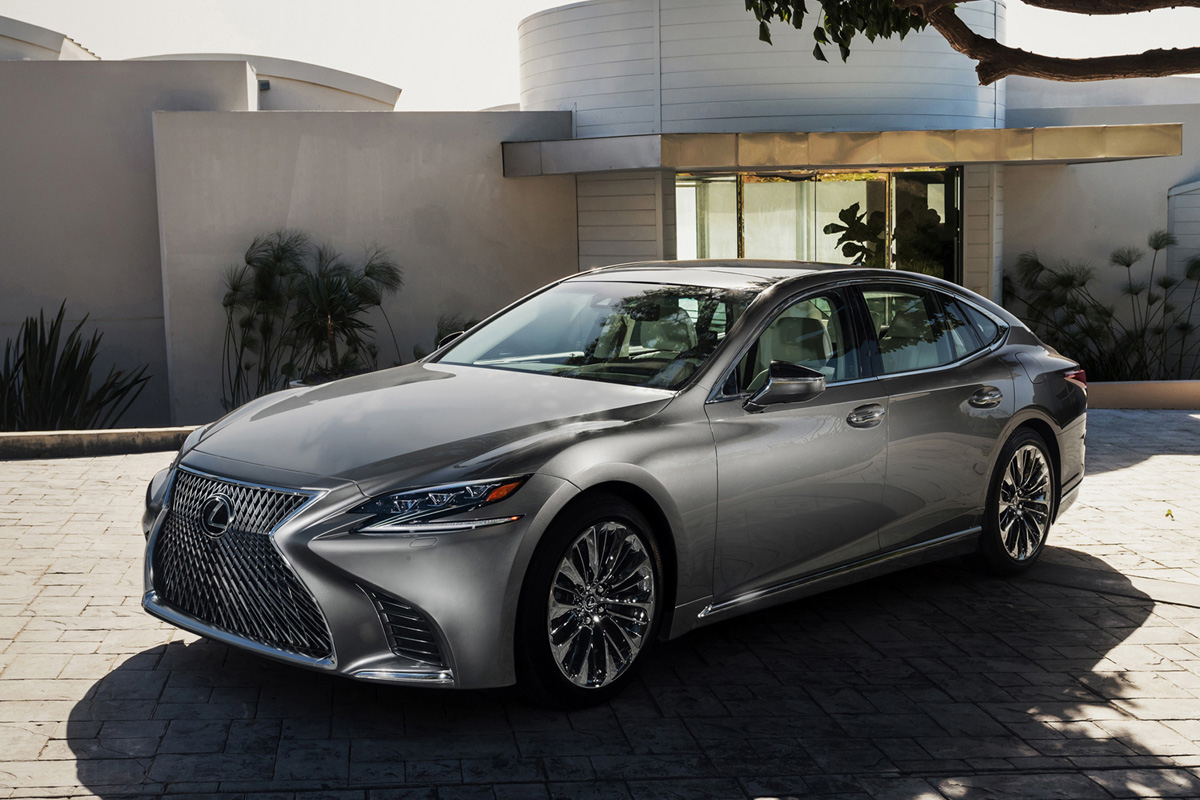 Introducing The Allnew 2018 Lexus Ls 500