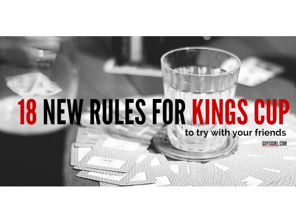 Pin Kings Cup Rules Gifts Ideas on Pinterest