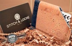 Stitch & Locke Cork and Denim Wallet