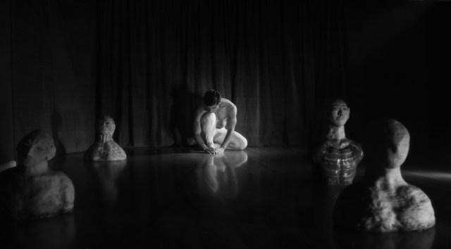 Gopal Divan as 'The Oracle.' Photo by Michael Marius Pessah.