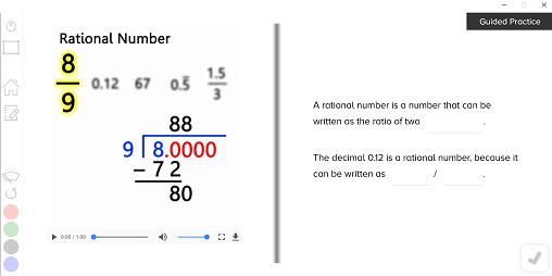 guzinta math combine like terms