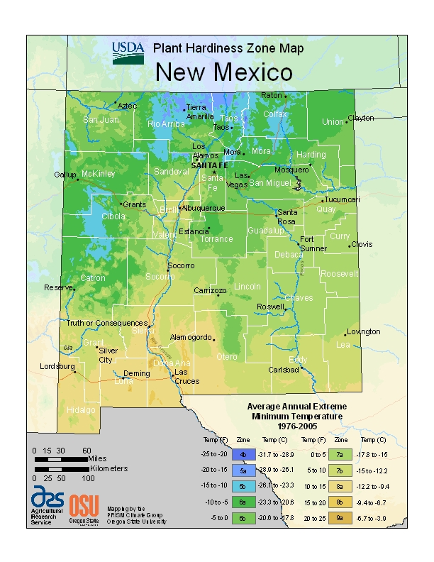 New Mexico Zone Map