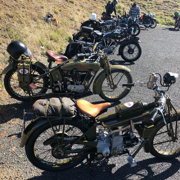 I took my 1921 Moto Guzzi Normale on the VMCC Easter Rally today. It was an absolute delight #guzziracer #motoguzzi #motoguzzinormale #guzziraceraus #vmccnsw