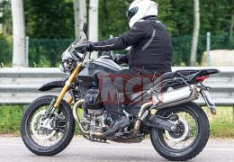 It's real! The Moto Guzzi V85 Adventure Bike spotted in testing