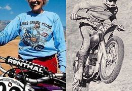 @silodrome The legendary Mary McGee was inducted today into the Motorcycle Hall of Fame. ️ She was one of the very first women to race in both on and off-road motorcycle competition in the USA, and she's still going strong today. ️