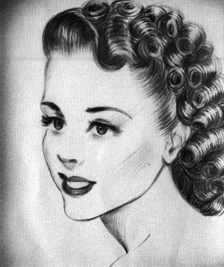 30+ 1940s Hairstyles - Hairstyles Ideas - Walk the Falls