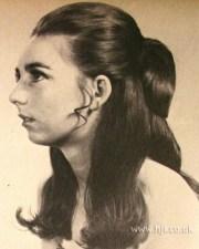 1950s hairstyles long hair