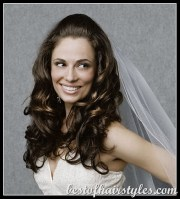 1950 and 1960 hair wedding