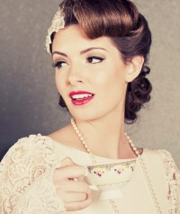 50s Wedding Hairstyles For Long Hair