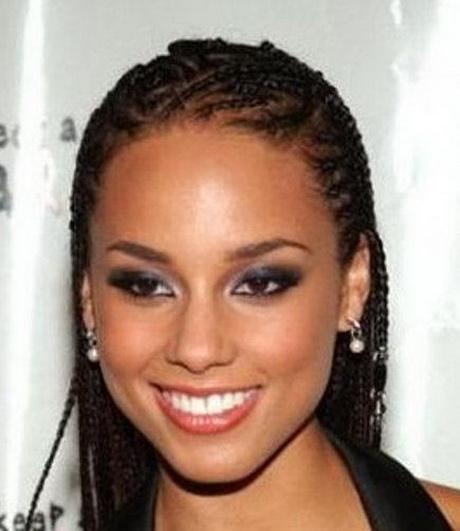 Alicia Keys Braided Hairstyles