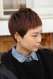 asian pixie haircut