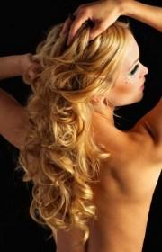 ball hairstyles long hair